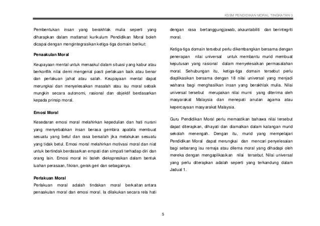 006 Dskp Kssm Pendidikan Moral Tingkatan 3