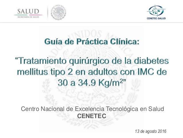 Guía de Práctica Clínica: Tratamiento quirúrgico de la