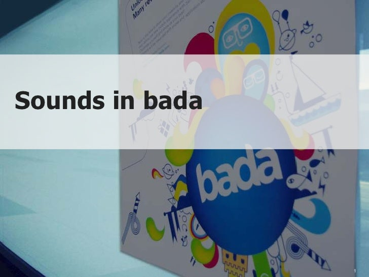 sounds in bada