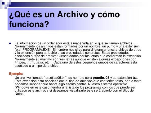 006 tipos de archivos Slide 3