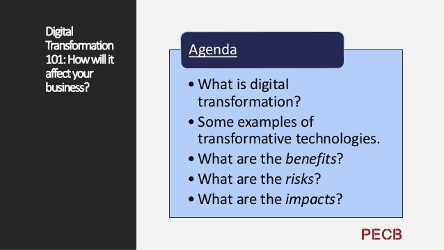 DigitalTransformationDefinition • Digital Transformation (DT or DX) is the use of new, fast and frequently changing digita...