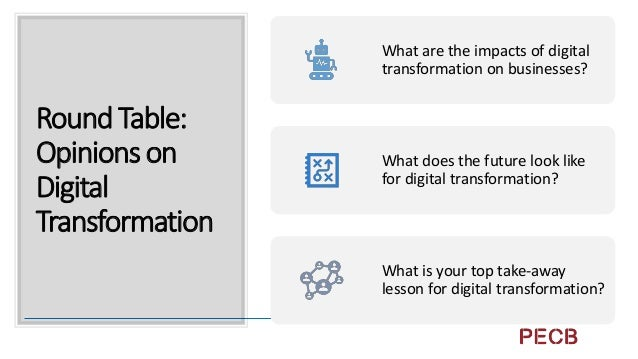 Summary Digital Transformation can impact your business with new technologies and new ways to use existing technologies. D...
