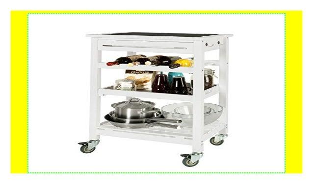 SoBuy® Servierwagen, Rollwagen, Küchenwagen mit Tischplatt ...