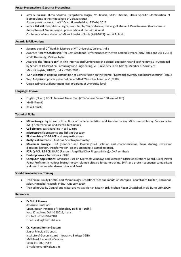 jeny singh resume