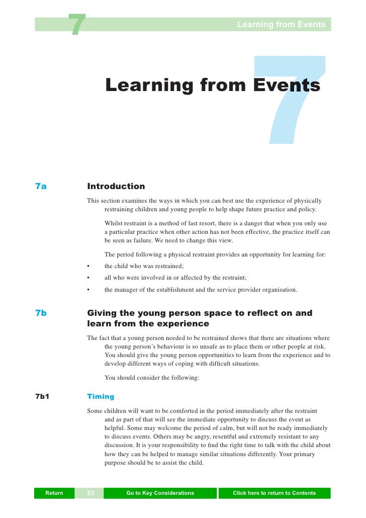 7                                                            Learning from Events     7a                      Learning fro...
