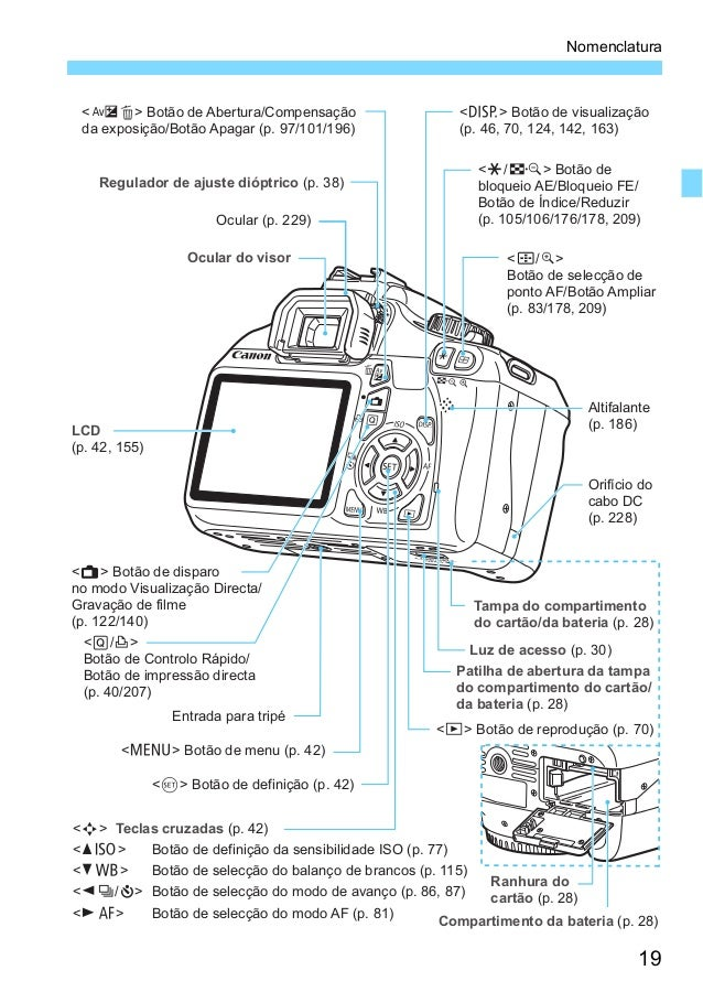 manual c u00e2mera canon 1100 d rebel t3
