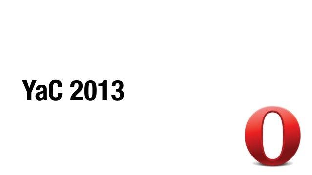 YaC 2013