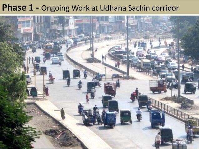 Phase 1 - Ongoing Work at Udhana Sachin corridor