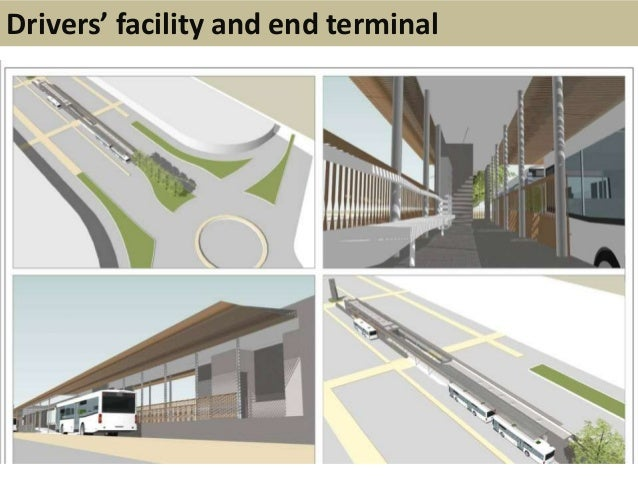 Drivers' facility and end terminal