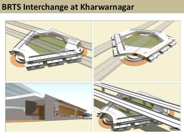 BRTS Interchange at Kharwarnagar