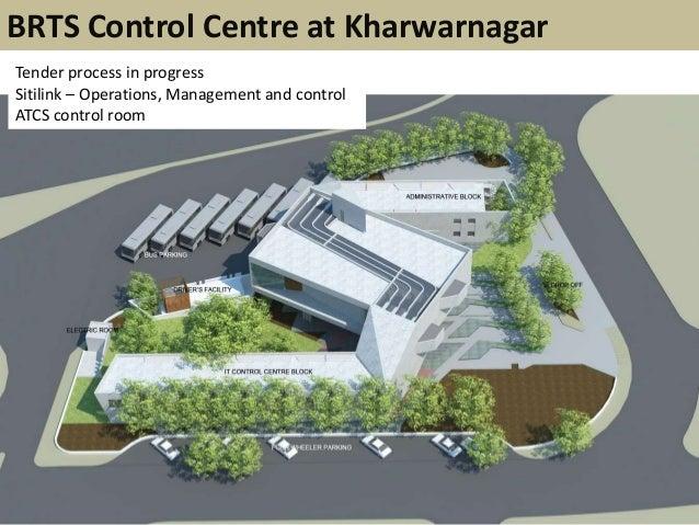 BRTS Control Centre at KharwarnagarTender process in progressSitilink – Operations, Management and controlATCS control room