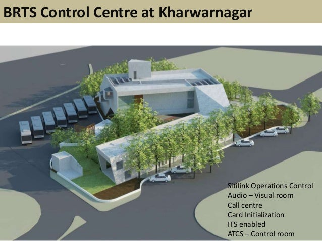 BRTS Control Centre at KharwarnagarSitilink Operations ControlAudio – Visual roomCall centreCard InitializationITS enabled...