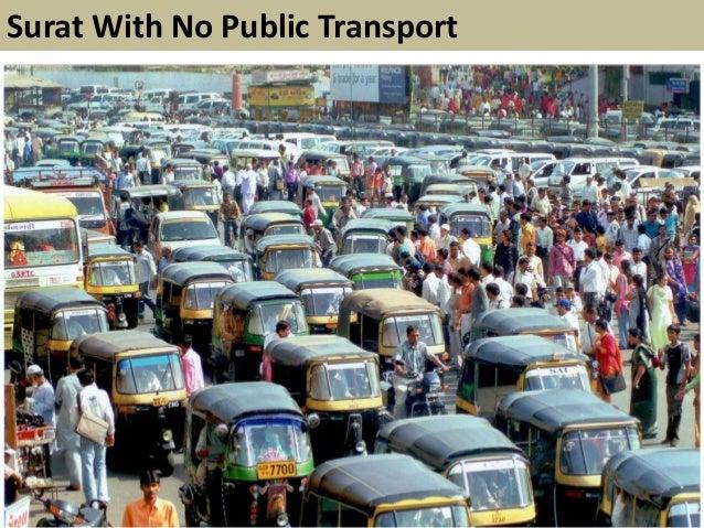 Surat With No Public Transport