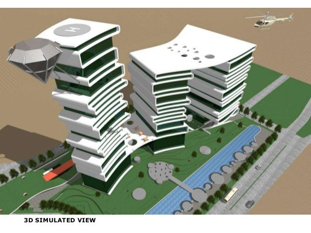 3D SIMULATED VIEW
