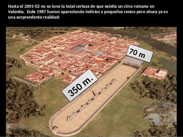 Hasta el 2001-02 no se tuvo la total certeza de que existía un circo romano en Valentia. Esde 1987 fueron apareciendo indi...