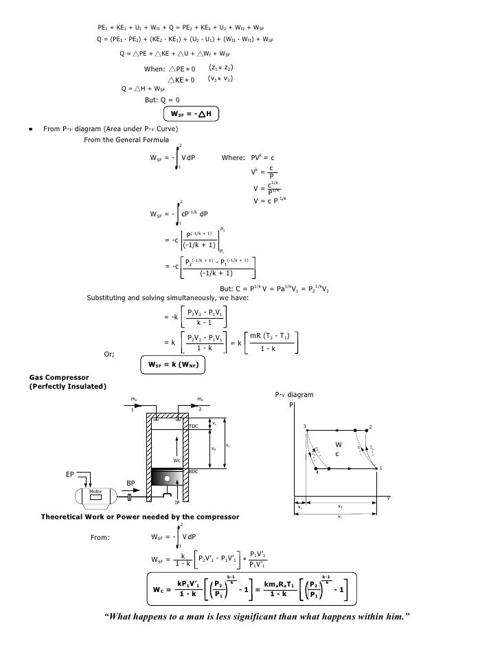 008 Isothermal Isentropicpolytropicprocess