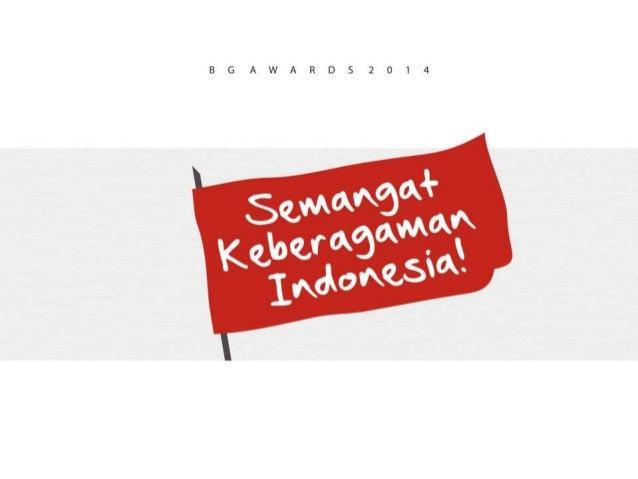 Semangat Keberagaman Indonesia Bg Award Citra Pariwara 2014
