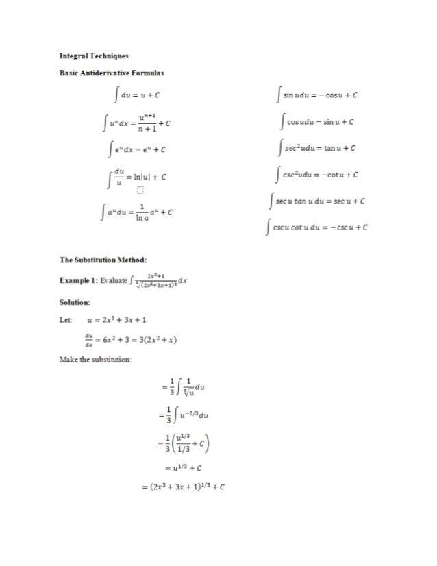 009c integration techniques 2.pdfx
