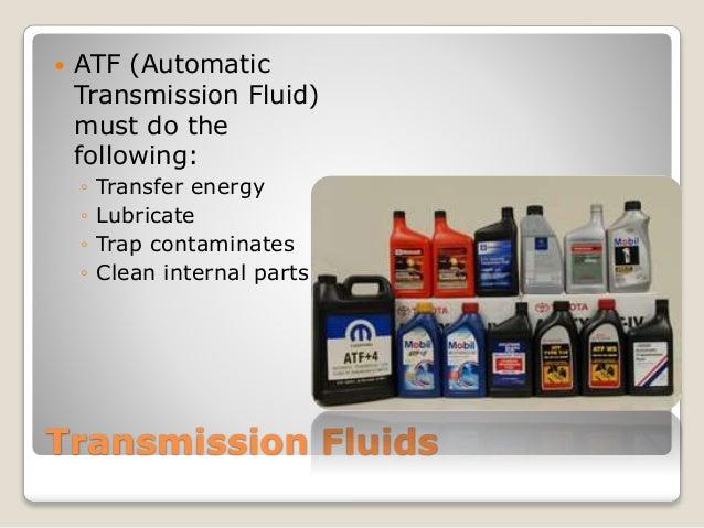 009 trans fluids and service