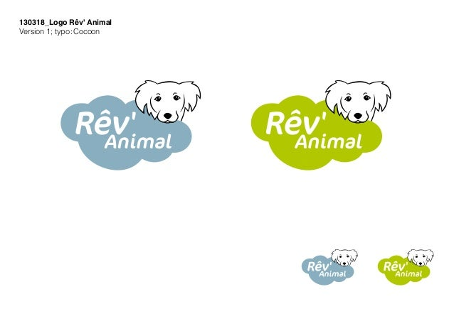 130318_Logo Rêv' Animal Version 1; typo:Cocoon