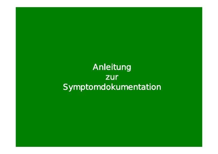 00 anleitung zur symptomdokumentation ppt