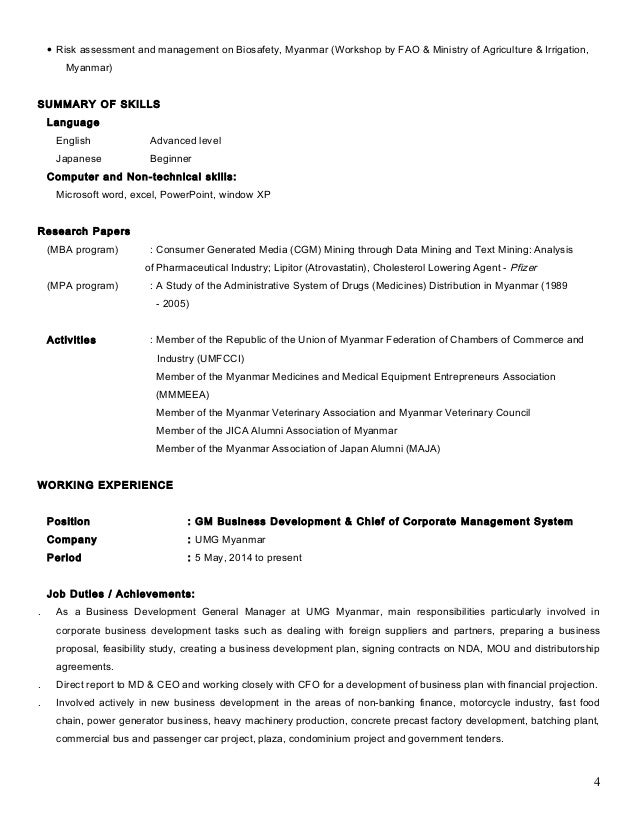 Technical Resume Technical Resume Format For Freshers Cover Technical Skill  Examples For A Resume Non Technical