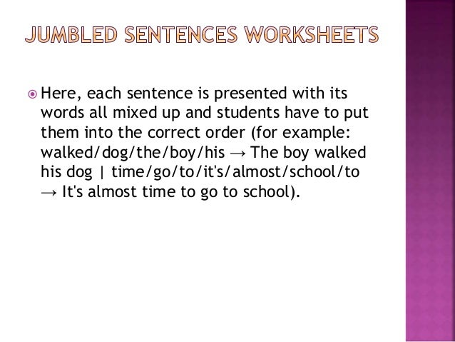Developing Effective Worksheets