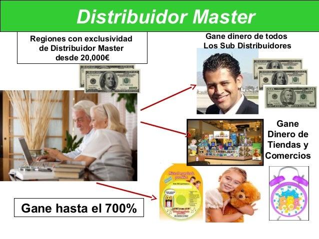 Distribuidor Master Gane dinero de todos Los Sub Distribuidores Gane Dinero de Tiendas y Comercios Regiones con exclusivid...