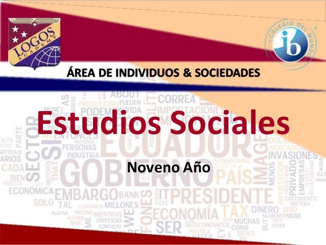 Estudios Sociales Noveno Año