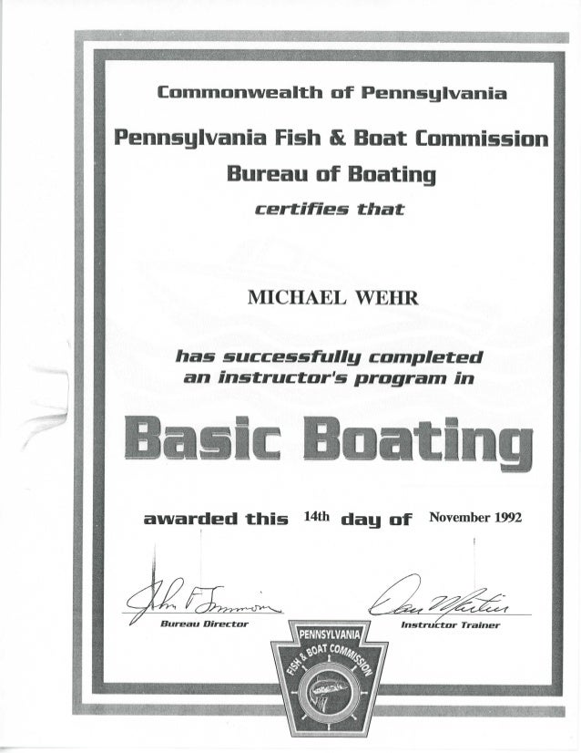 MRW 92-11-14 Basic Boating PA