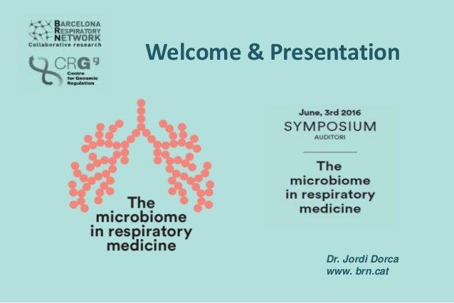 Dr. Jordi Dorca www. brn.cat Welcome & Presentation