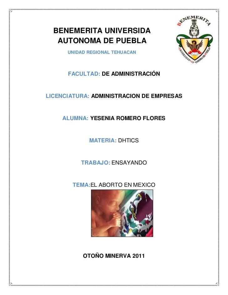 BENEMERITA UNIVERSIDA   AUTONOMA DE PUEBLA      UNIDAD REGIONAL TEHUACAN      FACULTAD: DE ADMINISTRACIÓNLICENCIATURA: ADM...