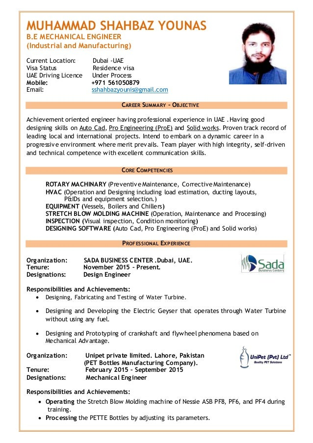 cv  engineer shahbaz cv  1
