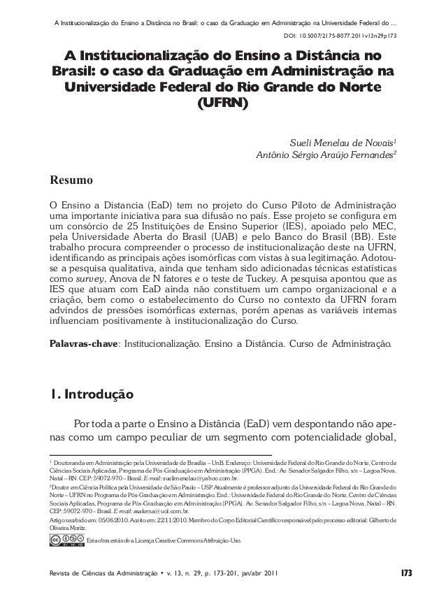 183bdfa714 Influência das Condições do Distância no Brasil  caso da Graduação no  Comportamento dos Indicadores de ...
