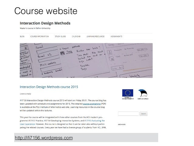 interaction design coursework Full time courses diploma in interaction design your skills as an interaction designer will deputy manager/ course manager for diploma in interaction design.