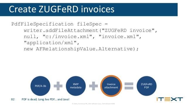 invoice attachment zugferd pdf 82