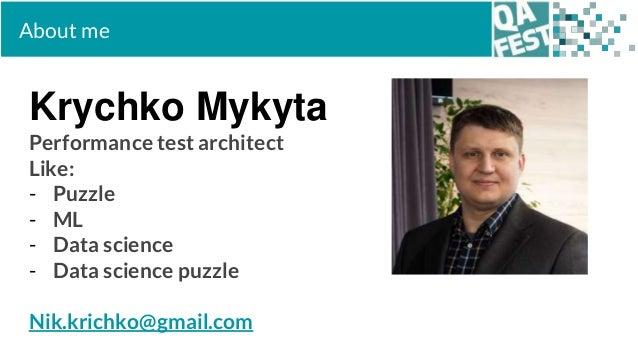 QA Fest 2019. Никита Кричко. Тестирование приложений, использующих ИИ Slide 2