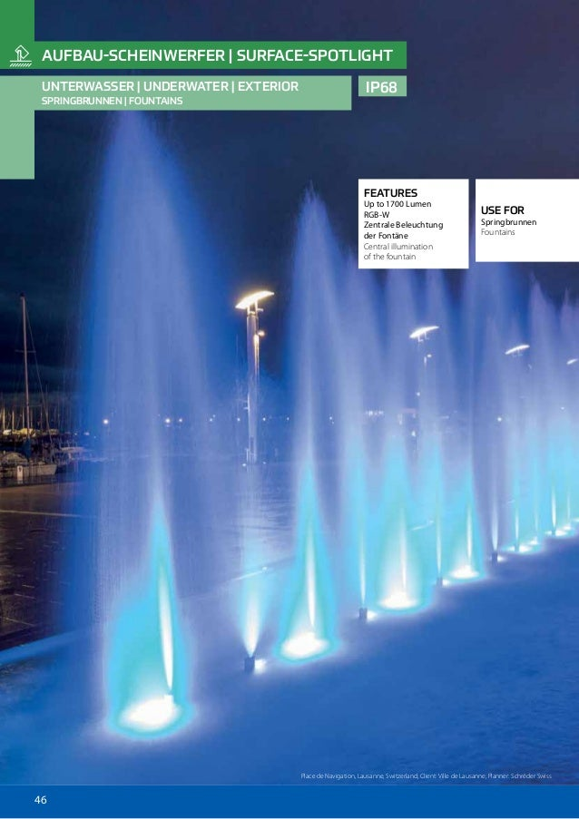 WIBRE LED underwater and outdoor accent lighting