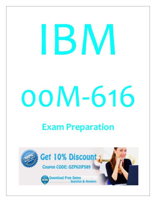 IBM 00M-616 Exam Preparation