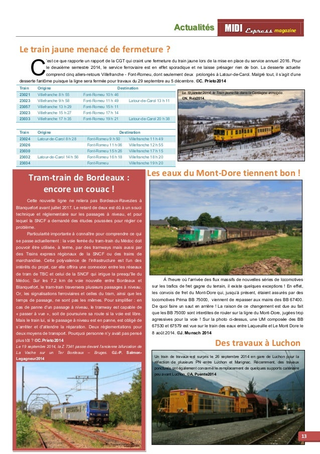 MMI IIDDI II EEx xxpppr rre ees sss ss magazine Acttualliittés  14  Nouveau trafic pour le port de La Pallice  La locomoti...