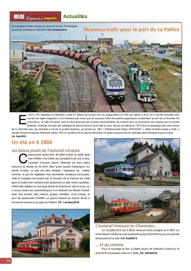 Acttualliittés iintternattiionalles MMI IIDDI II EEx xxp ppr rre ees sss ss magazine  15  Les 252 de la Renfe arrivent en ...