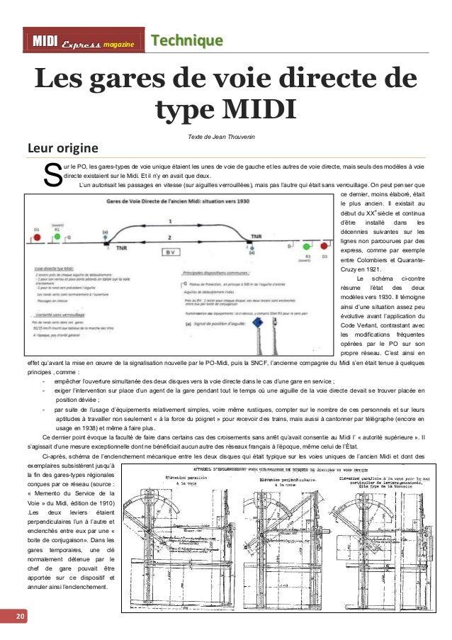 Techniique MMI IIDDI II EEx xxpppr rre ees sss ss magazine  21  Les dernières années de la gare de voie directe sans verro...