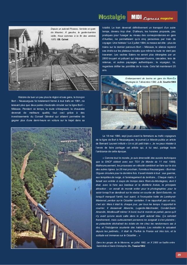 MMI IIDDI II EEx xxpppr rre ees sss ss magazine Nosttallgiie  30  Ci-dessus : Important trafic de bois en gare de Saint-Il...