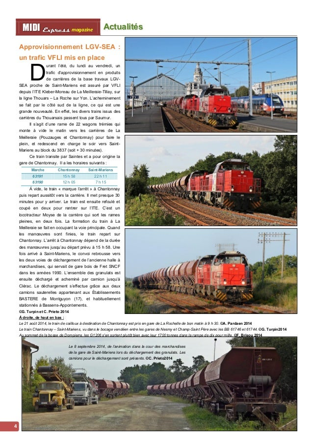 Acttualliittés MMI IIDDI II EEx xxpppr rre ees sss ss magazine  5  Les Z21500 en Aquitaine :  c'est (presque) fini !  L  v...