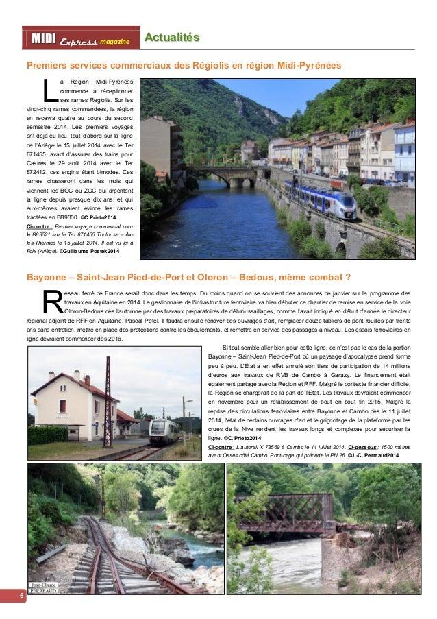 Acttualliittés MMI IIDDI II EEx xxpppr rre ees sss ss magazine  7  Trains postaux : chronique d'une deuxième mort annoncée...