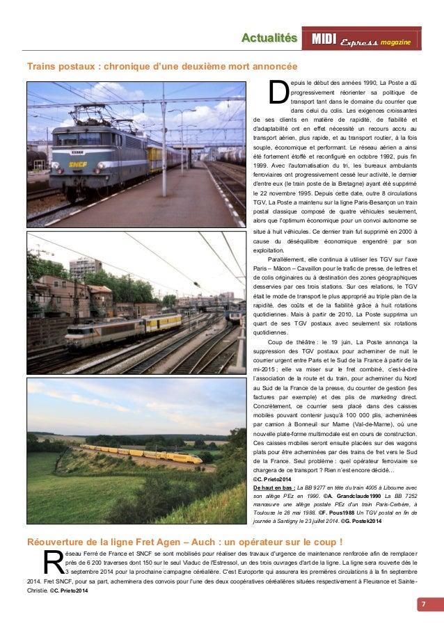 MMI IIDDI II EEx xxpppr rre ees sss ss magazine Acttualliittés  8  Du changement sur les  Causses  lors que le trafic sur ...