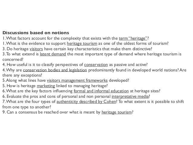 Iolanda Pensa, Heritage Management 2018, Università di Bergamo. Oral exam  Slide 3