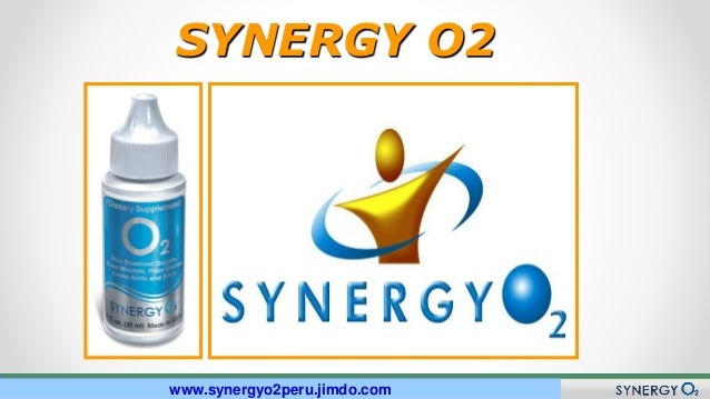 Nuevo Plan de Compensación SYNERGY O2 www.synergyo2peru.jimdo.com