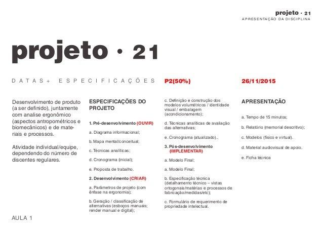 Projeto 21. Aula 00. Apresentação da disciplina. Slide 3