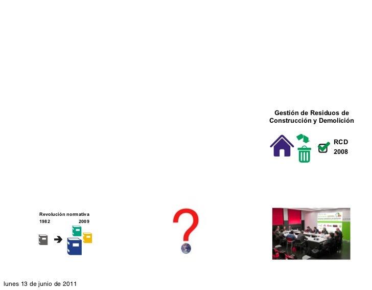 Gestión de Residuos de                                                           Construcción y Demolición                ...